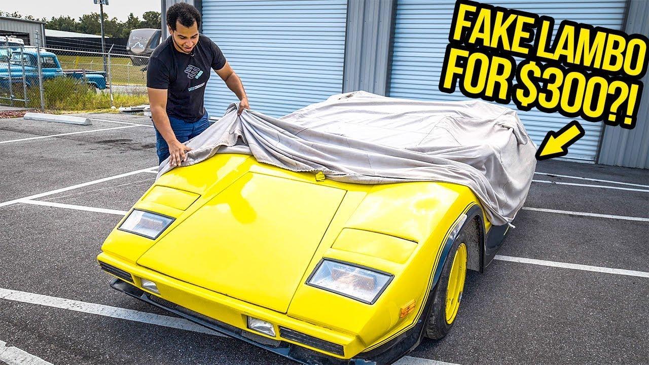 I Just Bought A FAKE Lamborghini For $300