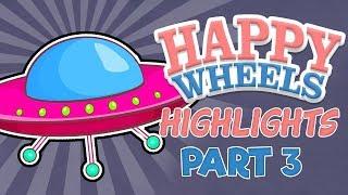 Aliens Ka Hamla in HAPPY WHEELS
