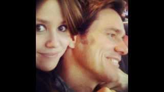 Jim Carrey And His Daughter Jane