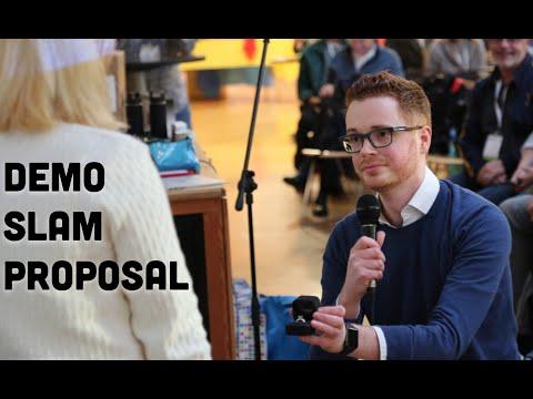 Google Demo Slam Marriage Proposal - She Said Yes!!!