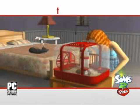The Sims 2  Pets Official Trailer PC,PS2,PSP HD