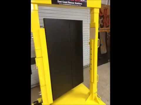 Forcible Entry Door Simulator/Prop by East Coast Rescue Solutions