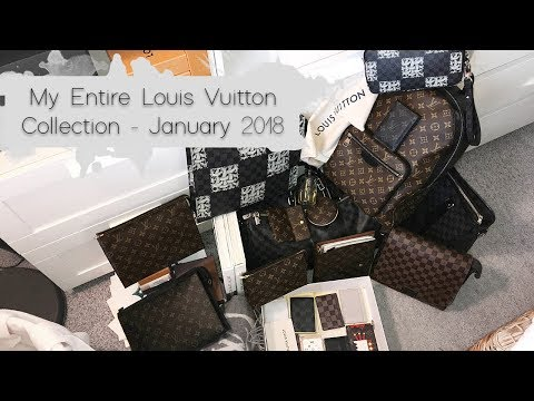 My Entire Louis Vuitton Collection - January 2018