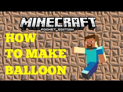 HOW TO MAKE A HOT AIR BALLOON IN MINECRAFT EASY NO MOD !!!