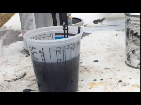 perfect rustoleum mixing ratio
