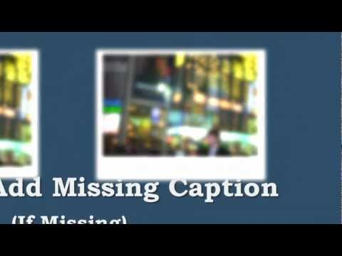 How To Add Missing Image Caption on Tumblr