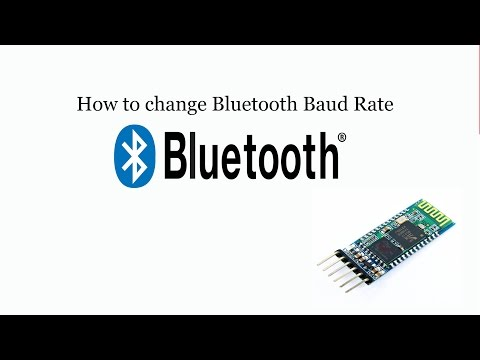How to change Bluetooth Baud rate using Arduino IDE