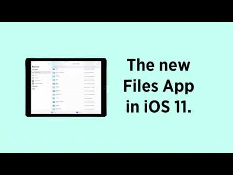iOS 11 Tip: The new Files App