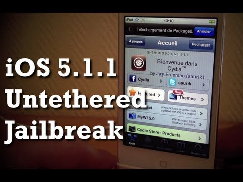 iOS 5.1.1 Untethered Jailbreak - Redsn0w 0.9.12b1 - iPhone 4S/4/3GS & iPad 1/2/3 & iPod touch 3/4