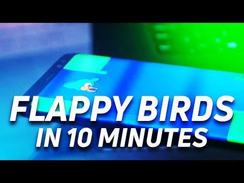 Flappy Bird Unity Tutorial for Android in 10 Minutes
