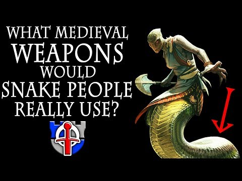Xxx Mp4 What Medieval Weapons Would SNAKE PEOPLE Really Use Naga FANTASY RE ARMED 3gp Sex