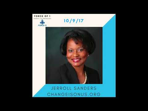 HOW TO END POLICE BRUTALITY- Jerroll Sanders | FORCEOF1