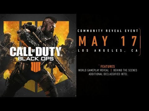 CALL OF DUTY: BLACK OPS 4 GAMEPLAY REVEAL LIVESTREAM! (BLACK OPS 4 REVEAL)