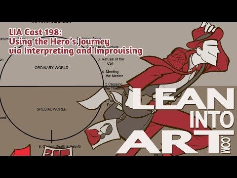 LIA Cast 198 - Using the Hero's Journey via Interpreting and Improvising