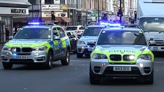 London Police Chasing Car