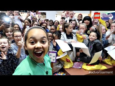 LEGO Friends House Of Heart Tour Meet And Greet | Toys AndMe