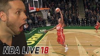 Can girls even dunk in a video game?