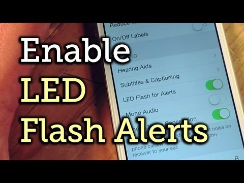 Receive LED Flash Alerts for Notifications on Your iPhone [How To]