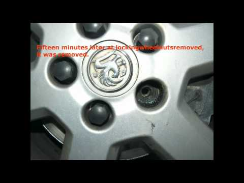 Locking wheel nut removal ..100% Success, yes guaranteed, 100%.