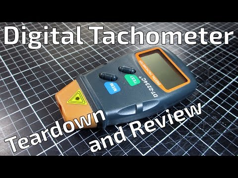 DT-2234C+ Digital Tachometer Teardown and Review