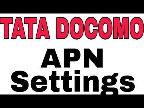 How To Setup Tata Docomo Faster Internet APN 2018