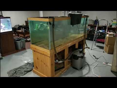 Resealing my 180 gallon aquarium.