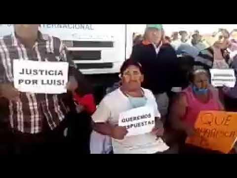 La familia de Luis Espinoza pide su aparición con vida