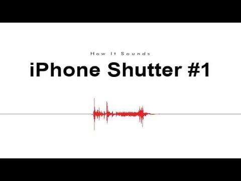 iPhone Shutter #1 Sound Effect