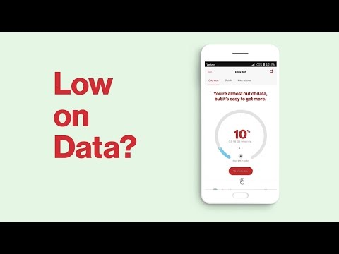 The My Verizon App - Data Boost