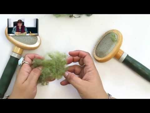 DIY: Carding Wool for Needle Felting