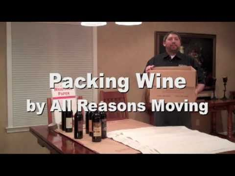 How to Pack Wine for Moving
