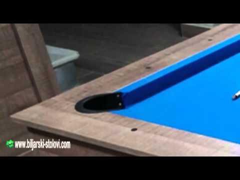 Pool table, billiard-dining table, handmade