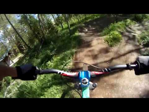 Invergarry pumptrack May 6 2017