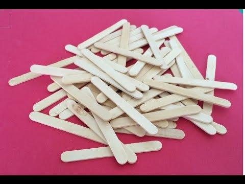 5 Creative Life Hacks using Popsicle Sticks