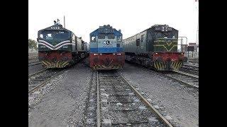 Pakistan Trainz Race || Parallel Trainz Action Compilation || Rare Collection || Part 2
