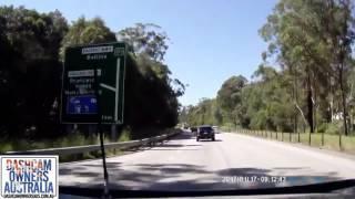 Car Crashes into Caravan and Rollover - Brunswick Heads