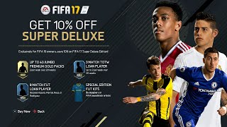 FIFA 17   OFFICIAL REVEAL (Release Date, Pre Order Bonus, Super Deluxe Edition & More)