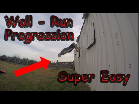 Wall Flip Progression | Wall Backflip