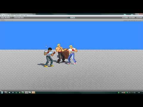Unity 3D Brawler 2D -  Diário de bordo - Parte 4 (Beat' em Up)
