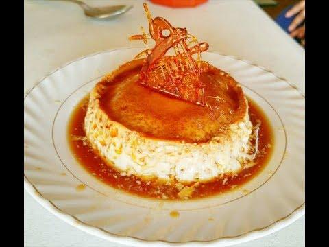 Caramel custard | Pudding | Flan Recipe in a Pressure Cooker