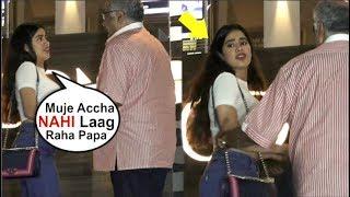 Jhanvi Kapoor IGNORES Media After Missing Mom Sridevi At Veere Di Wedding Movie Screening