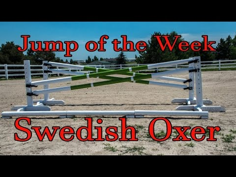How To Build a Swedish Oxer Horse Jump