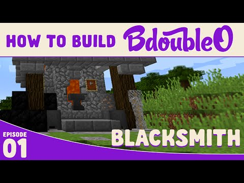 Minecraft Tutorial :: How to build Blacksmith