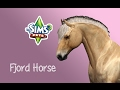 Creating a Fjord Horse - The sims 3