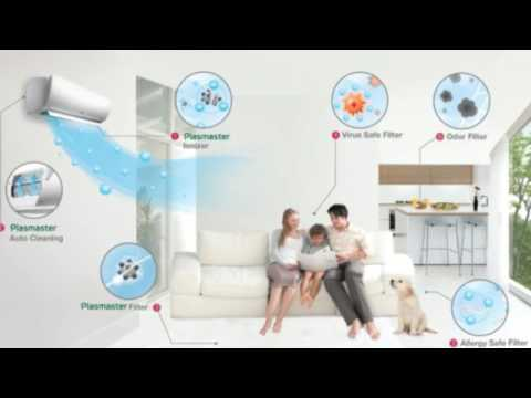Reducing Indoor Air Pollution by Air Conditioning in Minisplitwarehouse.