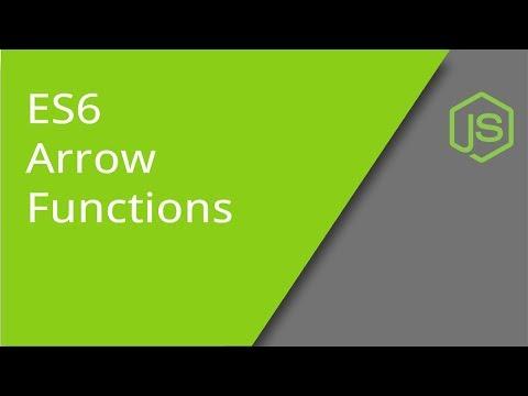 ES6 JavaScript Arrow Functions