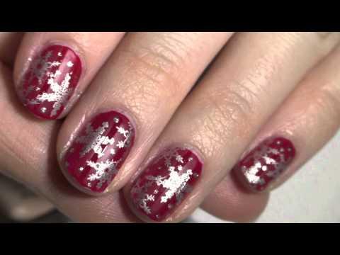 Simple Christmas Snowflakes
