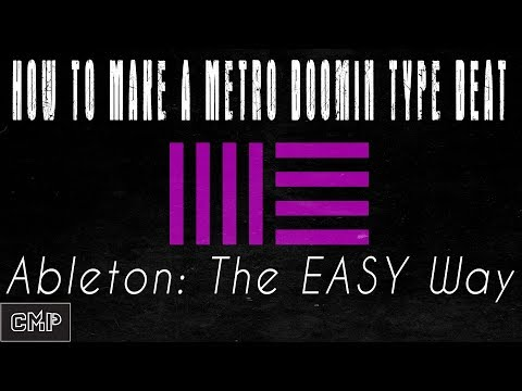 Ableton Live Tutorial | How to Make a Metro Boomin Type Beat