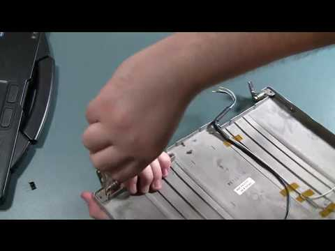 How to Replace Toughbook CF-53 Hinges