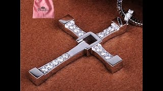 FAST AND🔥🔥THE FURIOUS STERLING🔥🔥SILVER TORETTO'S CROSS🔥🔥MEN'S